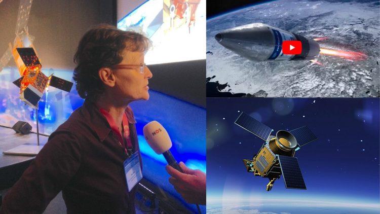 Werken aan een satellietinstrument met impact