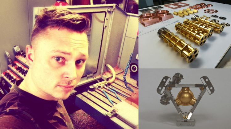 Working as an instrument maker for space research